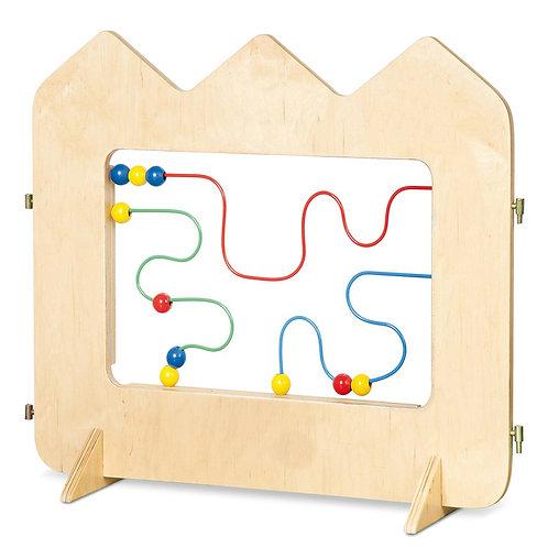 """Manipulatīvā sēta """"Labirints"""" 81x63x22 cm NS0089"""