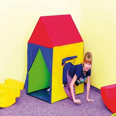 Krāsaina Rotaļu Mājiņa Bērniem DW8003