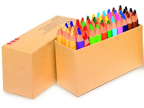 Krāsaino zīmuļu komplekts 60 gb. 8,8 cm NS1060