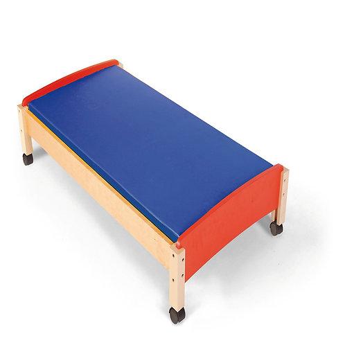 Masīvkoka gultiņa bērniem ar matraci NS0245