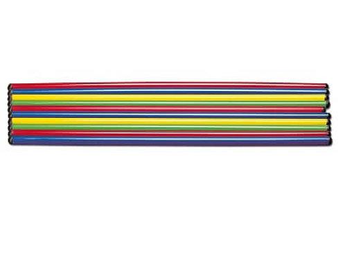 Bērnu Vingrošanas Stieņi 100 cm 10 gb. FI2100