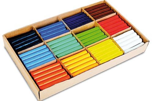 Plastilīna komplekts 180 gb., 12 krāsas TM2011