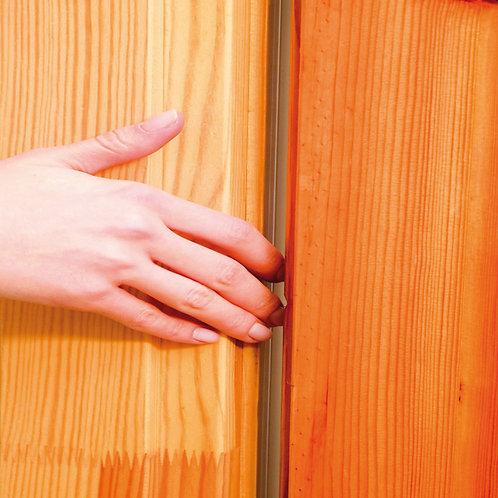 Profils durvīm pirkstu aizsardzībai 1,2m AV1901