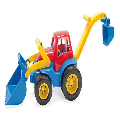 Traktors - ekskavators 31x23,5x16 cm DK2131