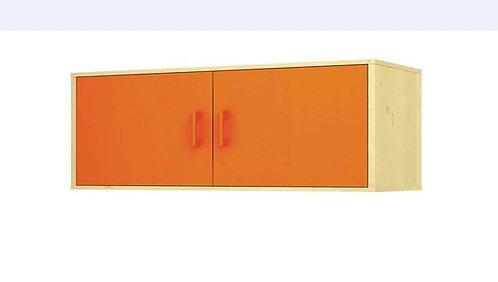 """Lielais sienas plaukts ar durvīm """"Svaigi oranžs"""""""
