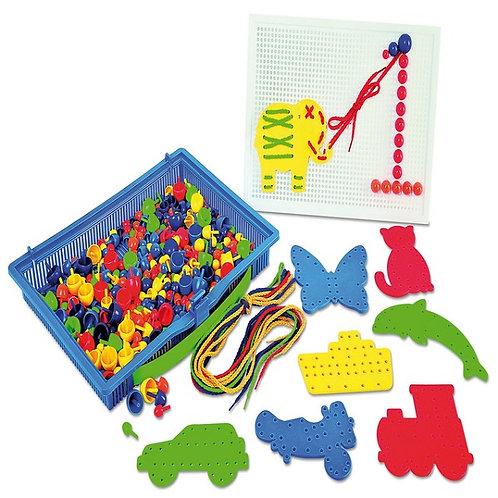 """Rotaļlieta """"Radošā mozaīku kastīte"""" NS4037"""