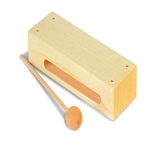 Koka akustiskā kastīte ar vālīti 18cm PG4618