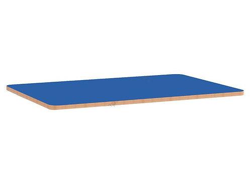 Taisnstūrveida krāsainas galda virsmas 75x120cm