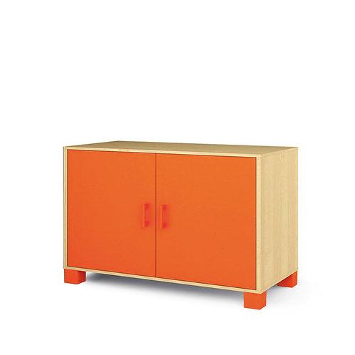 """Vidējā kumode ar durvīm """"Svaigi oranža"""" NM2011"""