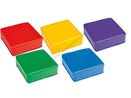 Kvadrātveida pufi - sēdeklīši 5 gb. NS1898