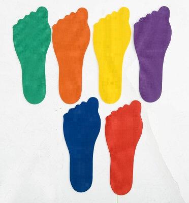 Krāsaini pēdu nospiedumi 6 pāri TY0072