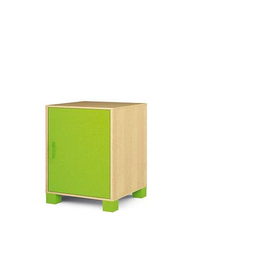 """Mazā kumode ar durvīm """"Svaigi zaļa"""" NM1012"""