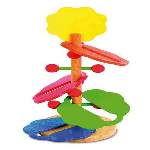 """Koka Attīstošā Rotaļlieta """"Puķe"""" EN2103"""