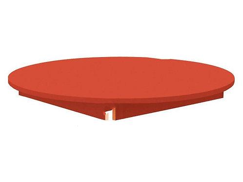 Apļveida krāsaina galda virsma - 4 krāsas