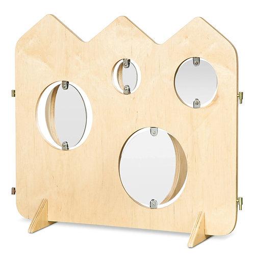 """Manipulatīvā sēta """"Spoguļi"""" 81x63x22 cm NS0086"""