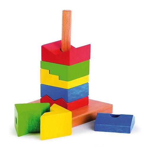 """Koka Rotaļlieta """"Varavīksnes Tornis"""" NS7446"""