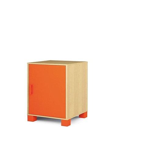 """Mazā kumode ar durvīm """"Svaigi oranža"""" NM1011"""