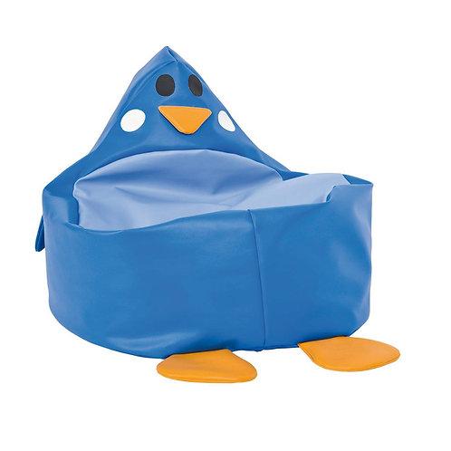 """Sēžammaiss """"Zilais pingvīns"""" 60x52x28 cm NS1985"""