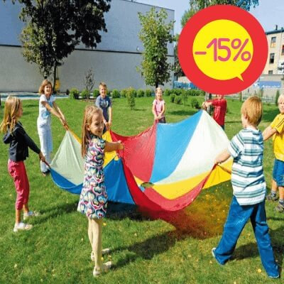 Bērnu Rotaļu Izpletnis Ø 1,75 m JG2301