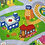 Thumbnail: Dwinguler Bērnu Paklājs - Mana Pilsēta  L