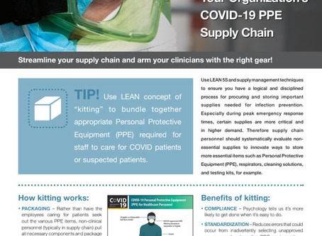 LEAN Tip for Your COVID-19 PPE Supply Chain