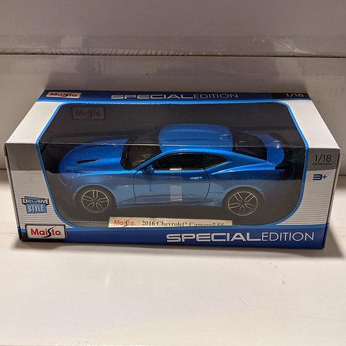 2016 Chevrolet Camaro SS (blue)