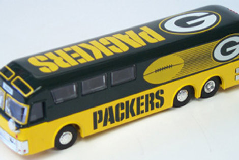 2002 Green Bay Packers Bus