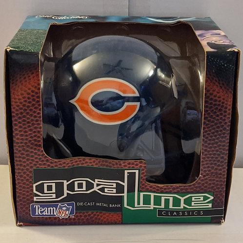1995 Chicago Bears ERTL Mini Helmet Bank