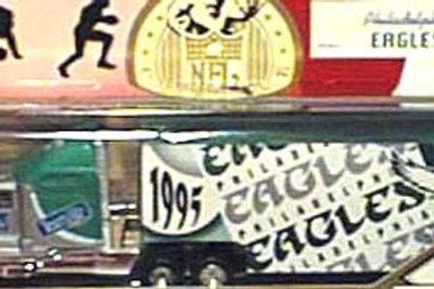 1995 Philadelphia Eagles Tractor Trailer