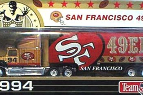 1994 San Francisco 49ers Tractor Trailer