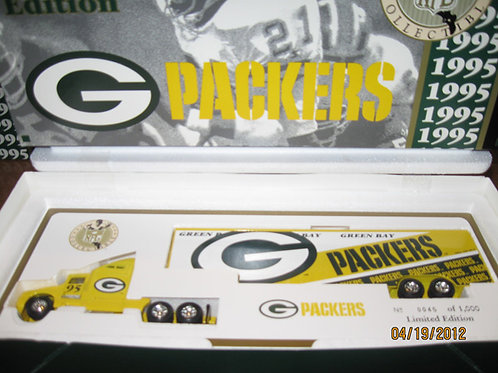 1995 Green Bay Packers WRC Tractor Trailer