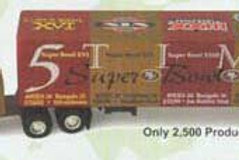 2000 San Francisco 49ers 5x Super Bowl Champions Tractor Trailer