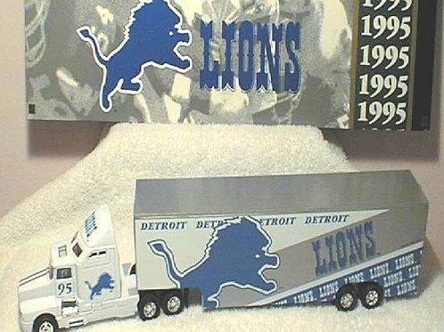 1995 Detroit Lions WRC Tractor Trailer