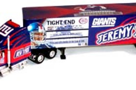 "2004 New York Giants ""SuperStars"" Jeremy Shockey Tractor Trailer"