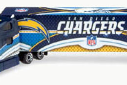 2008 San Diego Chargers Tractor Trailer