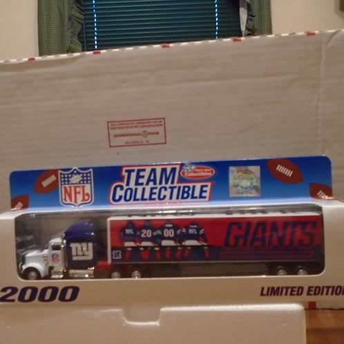2000 New York Giants Tractor Trailer