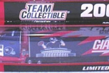 2001 New York Giants Tractor Trailer