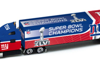 2012 New York Giants Super Bowl XLVI (46) Tractor Trailer