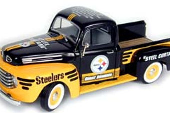 "2002 Pittsburgh Steelers Great Defense ""Steel Curtain"" 1948 Ford F-150"