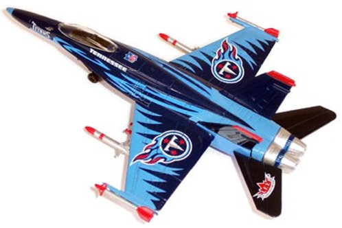 2004 Tennessee Titans F-18 Airplane