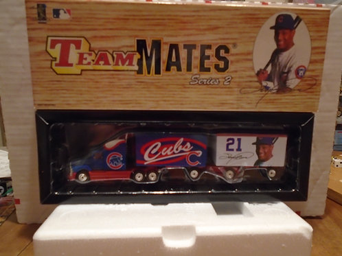 "1999 Chicago Cubs ""TeamMates"" Sammy Sosa Tractor Trailer"
