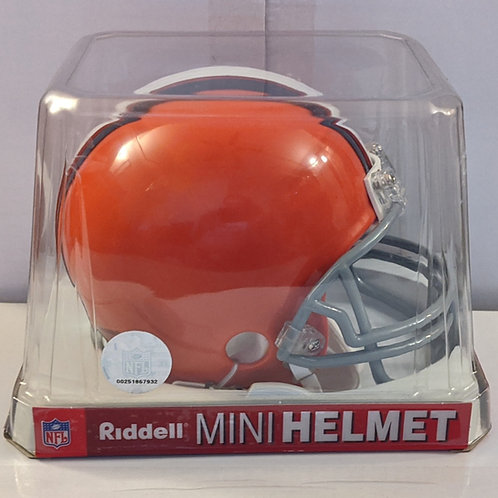 2010 Cleveland Browns Riddell Mini Helmet