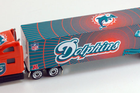 2011 Miami Dolphins Tractor Trailer