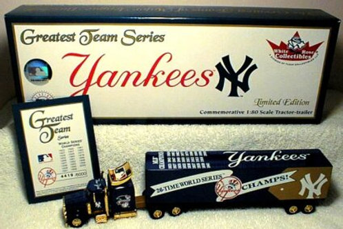 2001 New York Yankees 26 Time World Series Tractor Trailer