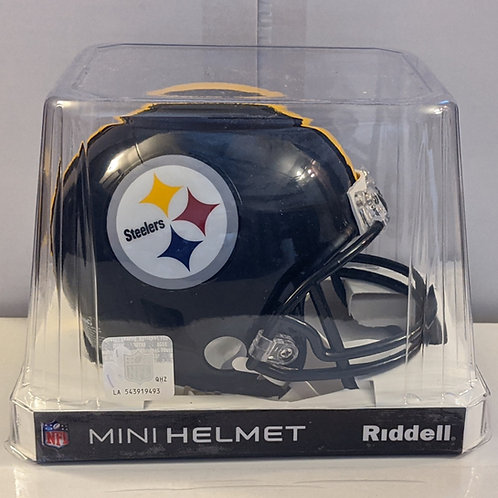2018 Pittsburgh Steelers Riddell Mini Helmet