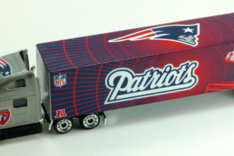 2011 New England Patriots Tractor Trailer