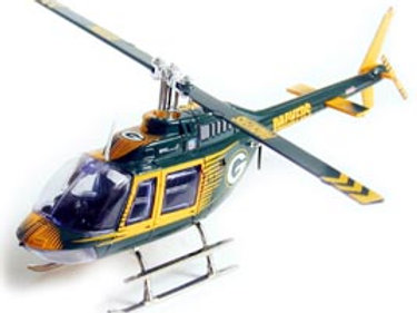 2004 Green Bay Packers Bell Jet Helicopter
