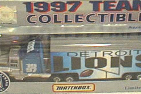 1997 Detroit Lions Tractor Trailer