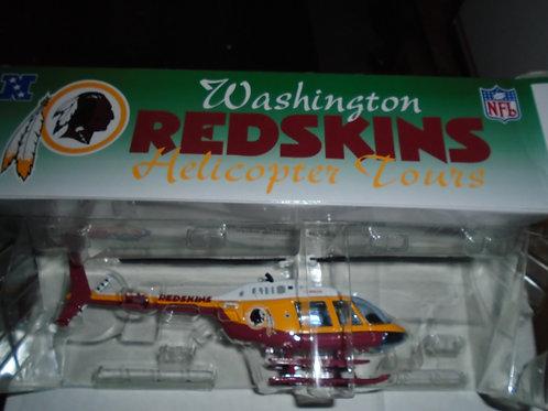 2000 Washington Redskins Bell Jet Helicopter