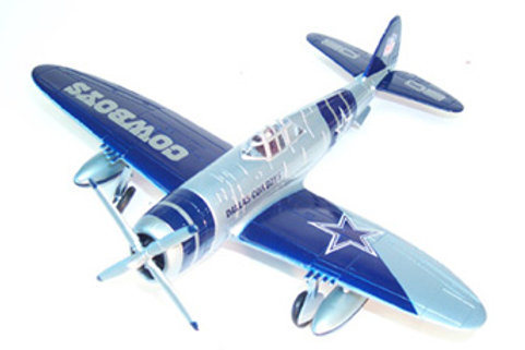 2002 Dallas Cowboys P-47 Airplane